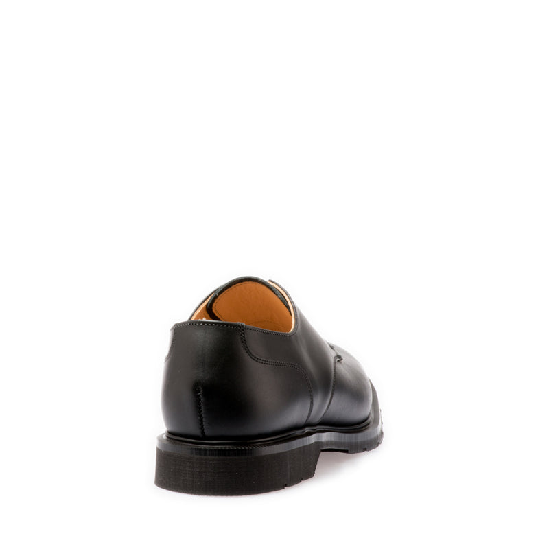 Solovair 4 Eye Black Gibson Shoe
