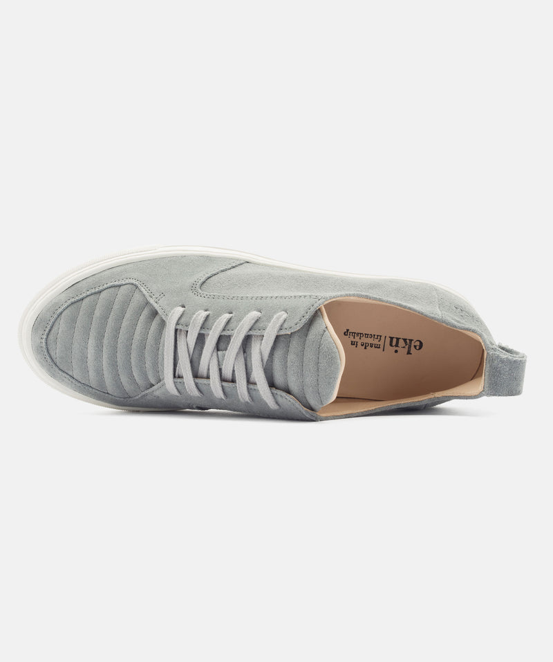 Ekn Argan Low Grey Suede