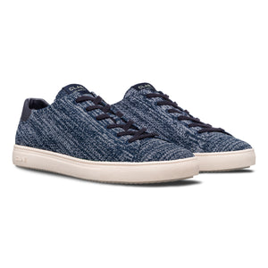 Clae Bradley Knit Deep Navy Two Tones Recycled Knit
