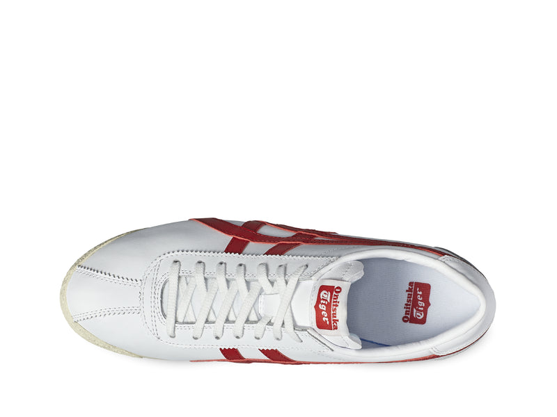 Onitsuka Tiger Corsair White - True Red