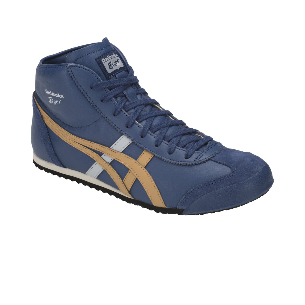 Onitsuka Tiger Mexico Mid Runner Midnight Blue - Caravan