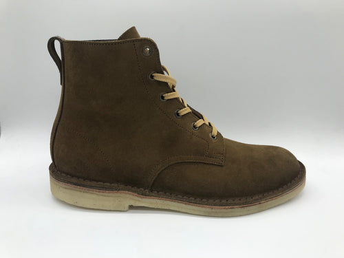 NPS Shoes x Eisdieler 6 Eye Derby Boot Tan Suede