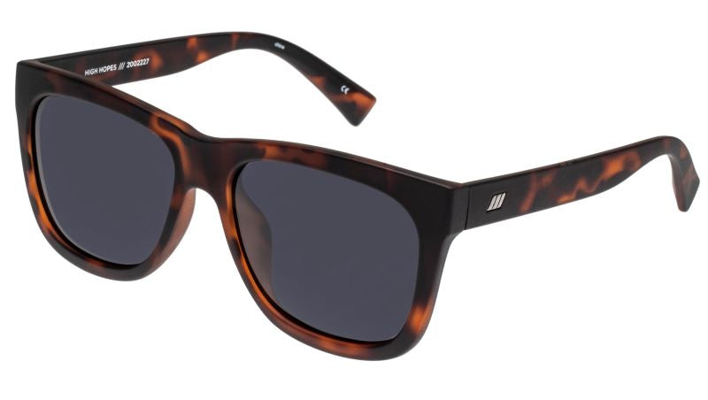 Le Specs High Hopes Matte Tort Polarised