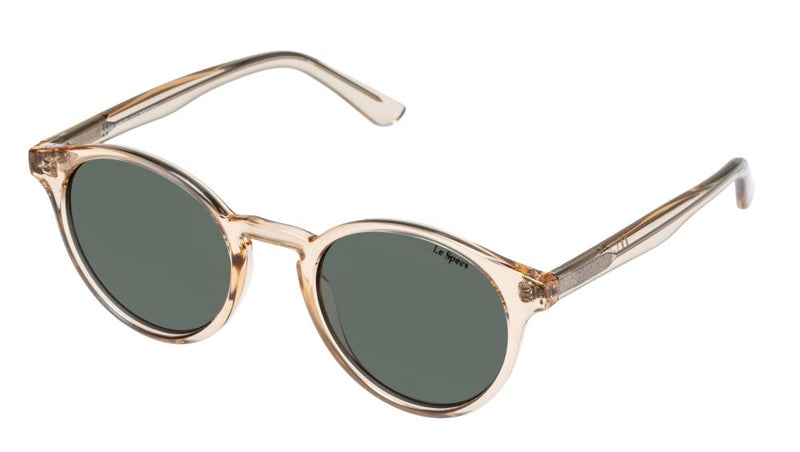 Le Specs Whirlwind Sand Green Sunglasses