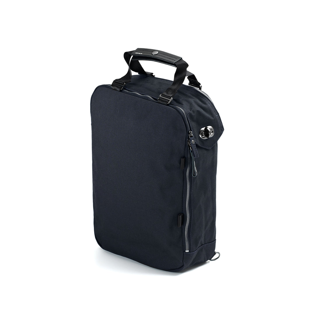QWSTION Daypack Organic Midnight Blue
