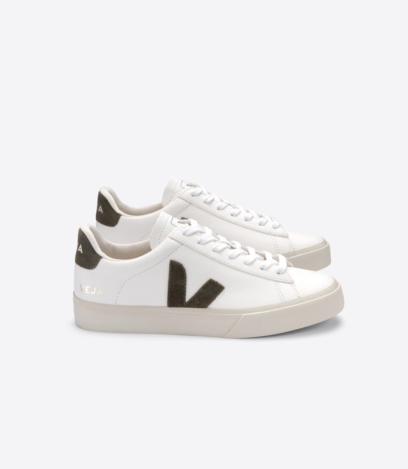 Veja Campo Chromefree Leather White Kaki