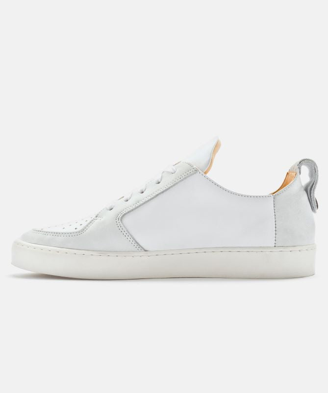 Ekn Footwear Argan Low White Leather Max Herre Sneakers