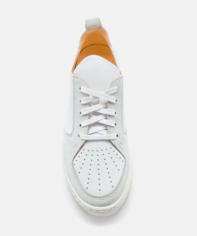 Ekn Footwear Argan Low White Leather Max Herre