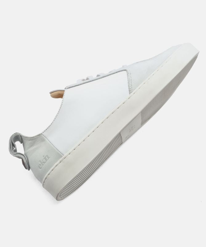 Ekn Footwear Sneaker Argan Low White Leather Max Herre