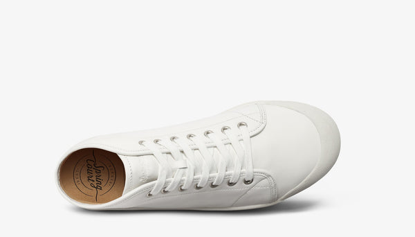 Spring Court B2 White Leather