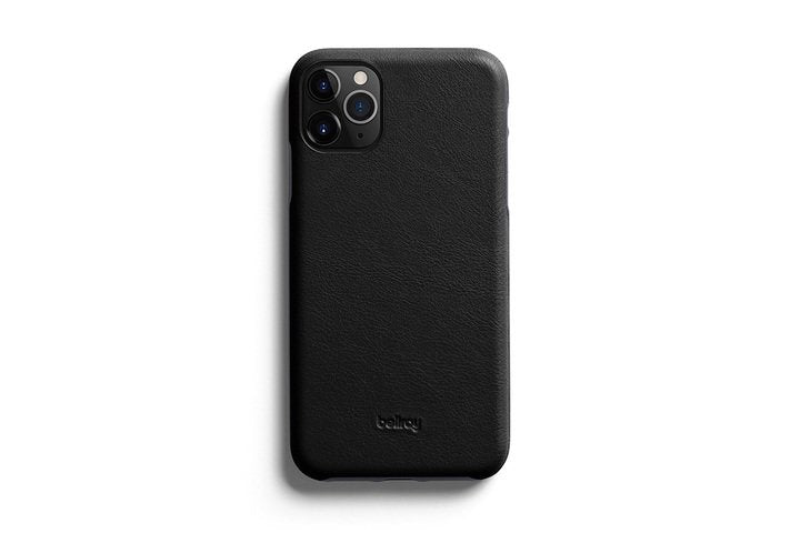Bellroy Leather Phone Case Black - iPhone 11 Pro Max