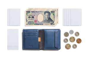 Bellroy Coin Wallet Marine Blue RFID