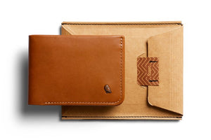 Bellroy Hide & Seek Caramel RFID