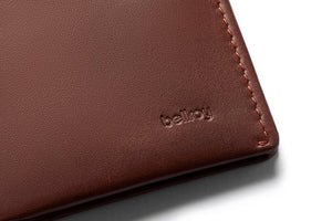 Bellroy Note Sleeve Cocoa RFID