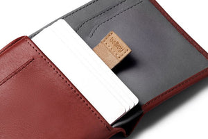 Bellroy Note Sleeve Red Earth RFID
