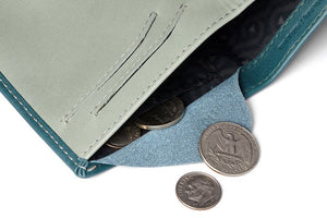 Bellroy Note Sleeve Teal RFID