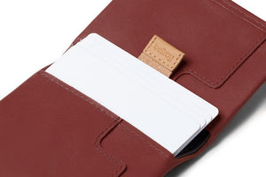 Bellroy Slim Sleeve Red Earth