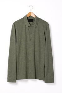 "Bowler Berlin Polo Shirt ""Diplomat"" Algae Green"