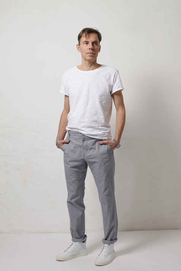 Director´s Cut Chino 88 Blue-Grey