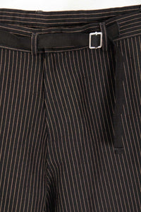 "Director´s Cut ""Greyhound"" Sommerhose Black Pinstripe"