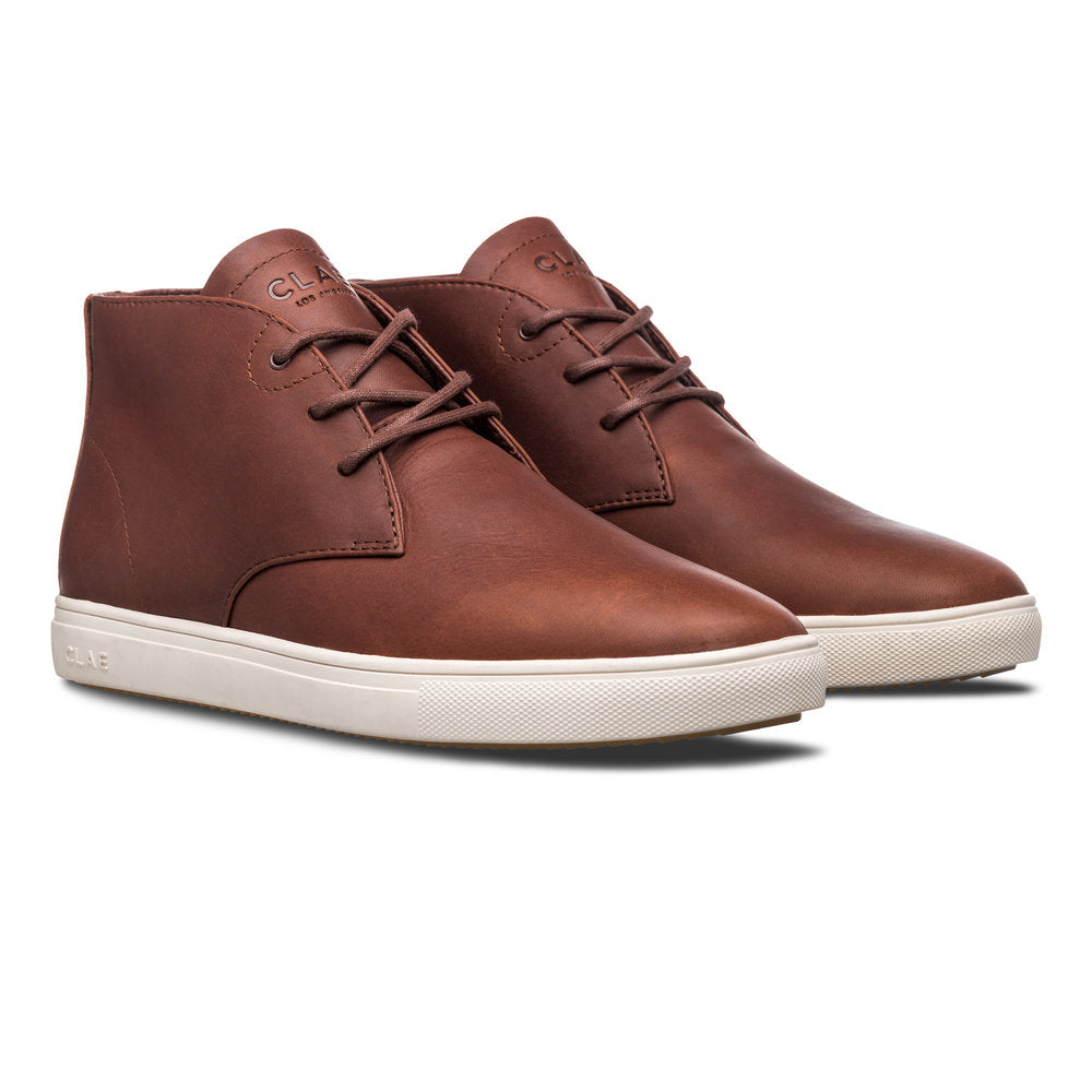 Clae Strayhorn SP Chestnut Oiled Leather