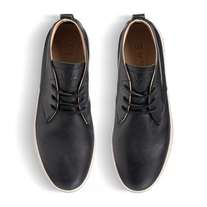 Clae Strayhorn SP Black Milled Leather