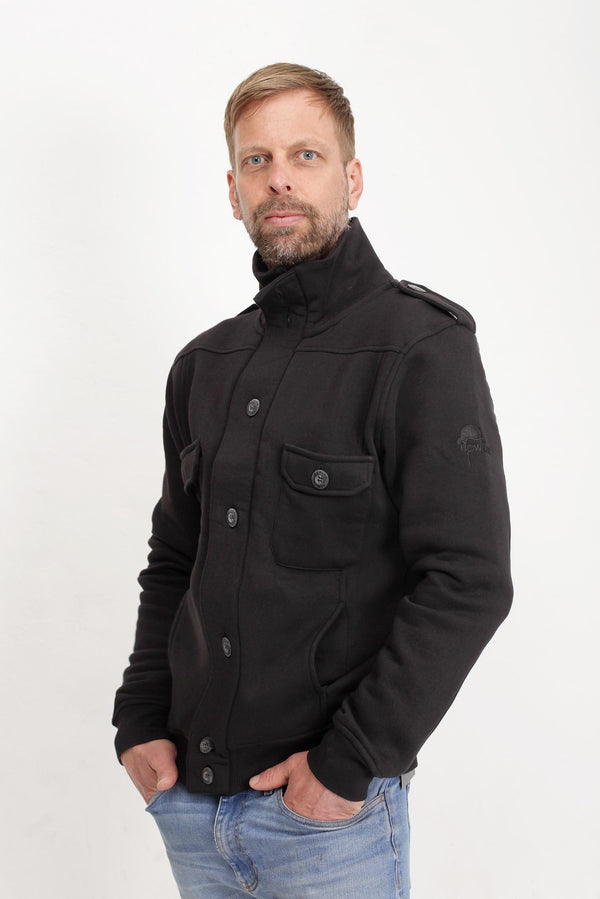 Bowler Berlin Sweat Jacket Black
