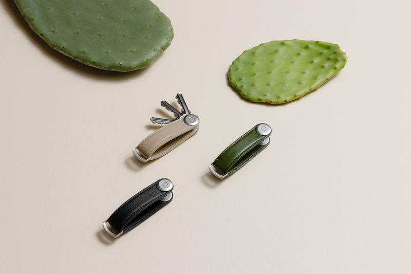 Orbitkey Key Organiser Cactus Leather