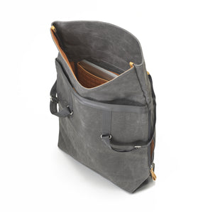 QWSTION Day Tote Washed Grey