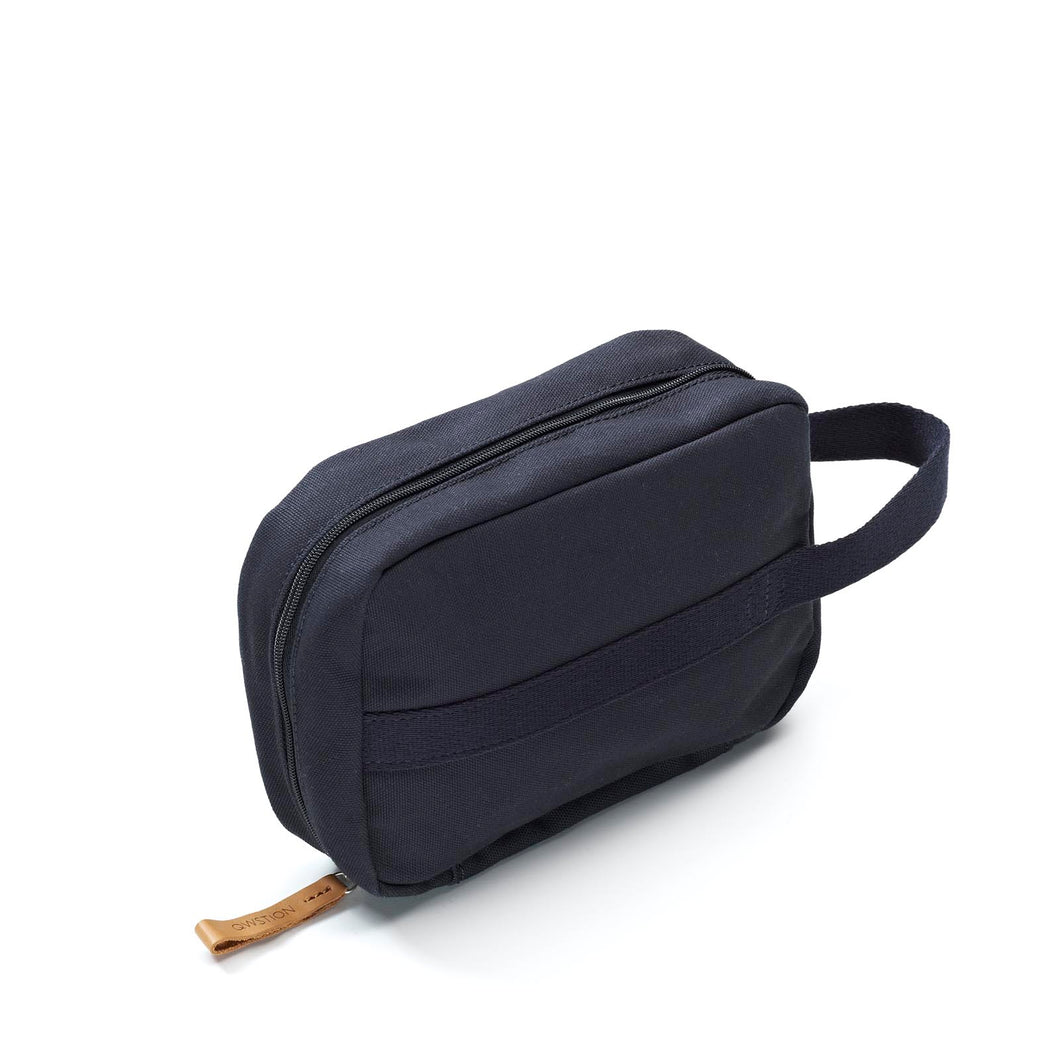 QWSTION Toiletry Kit Organic Navy