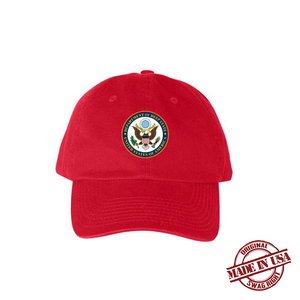 Department of Deep State Hat - Red