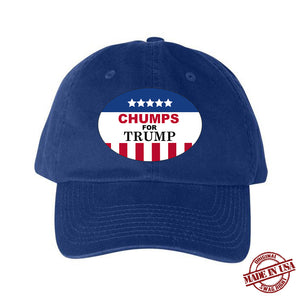 Chumps for Trump Hat (Blue, Red, White)