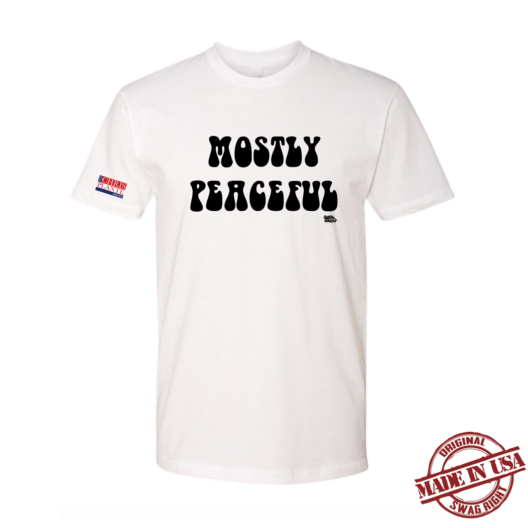 Mostly Peaceful T-Shirt - White