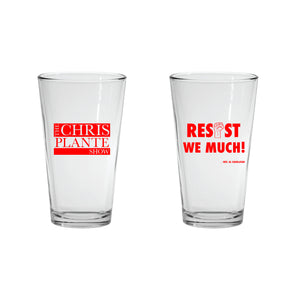 Resist We Much Pint Glass