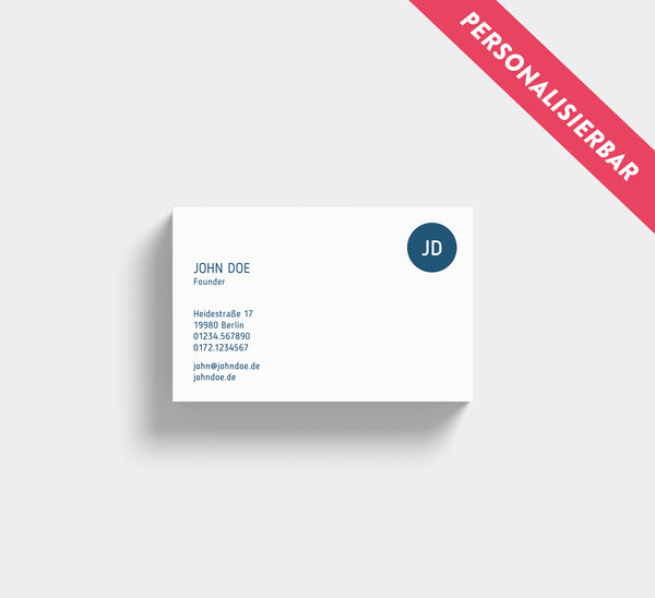 Business Cards | Visitenkarten 1-seitig