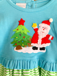 Santa's Christmas Ruffle Dress