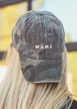 Load image into Gallery viewer, Camo MAMA Hat