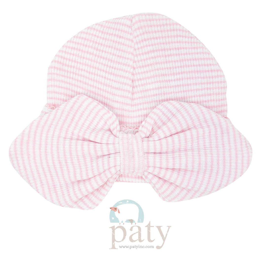 Pink Paty Bow Hat