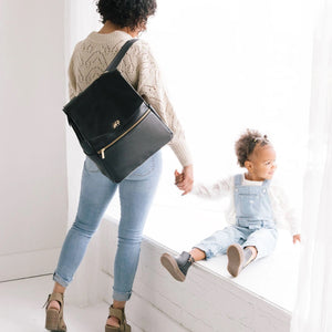 Classic Black Freshly Picked Diaper Bag