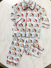 Load image into Gallery viewer, Boy Vintage Santa PJs