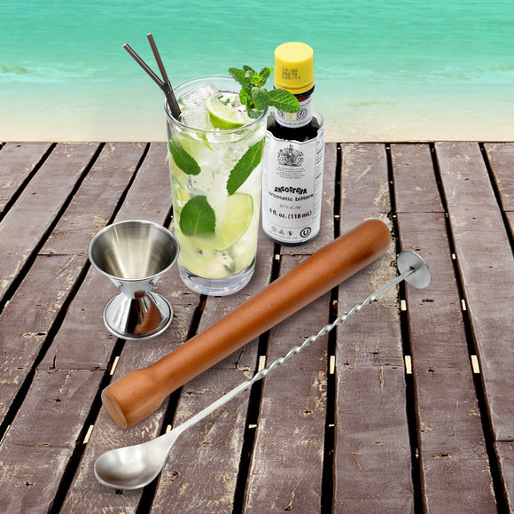 Complete Mojito making cocktail kit (5 pieces) - Your Home Bar