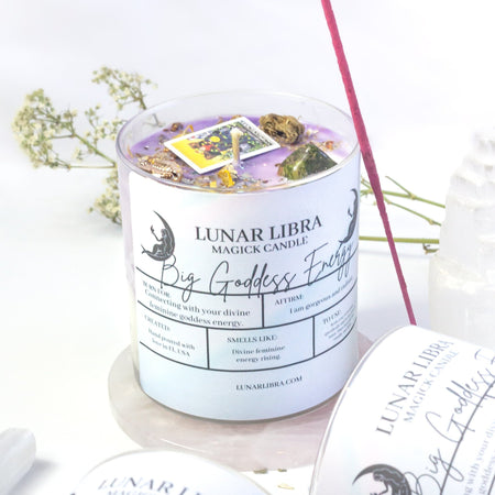Big Goddess Energy Candle - Lunar Libra-candle