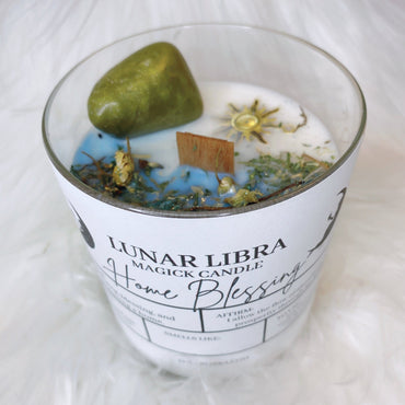 Home Blessing Candle - Lunar Libra-