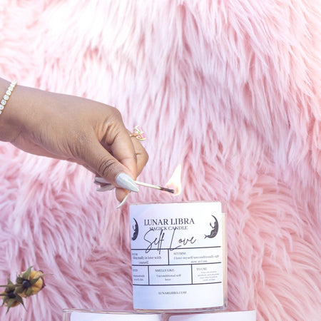 Self Love Candle - Lunar Libra-