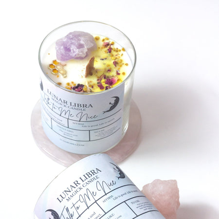 Talk to Me Nice Candle - Lunar Libra-