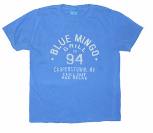 Blue Mingo Grill Chill Out and Relax Tee