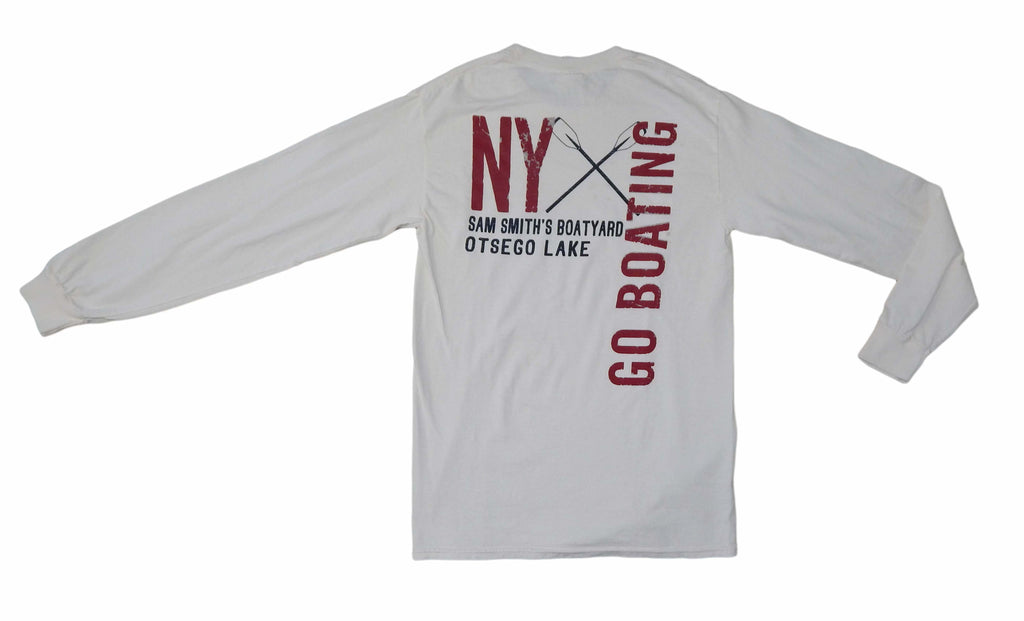 Go Boating Long Sleeved Tee