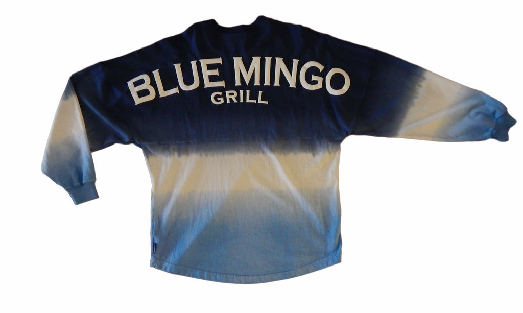 Blue Mingo Grill Moonlight Ombre Crew Neck Jersey