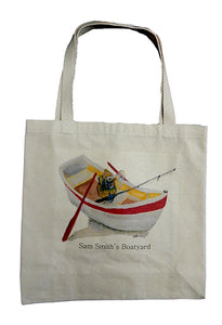 Sam Smith's Boatyard Canvas Tote Bag