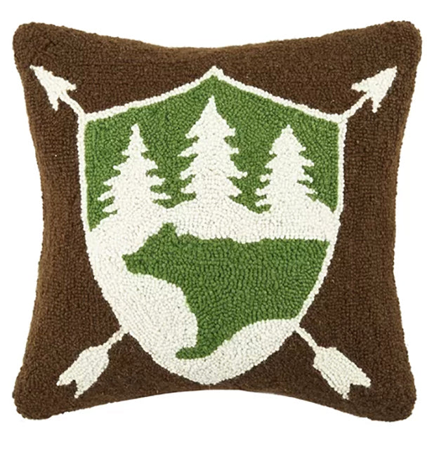Bear Wool Throw Pillow